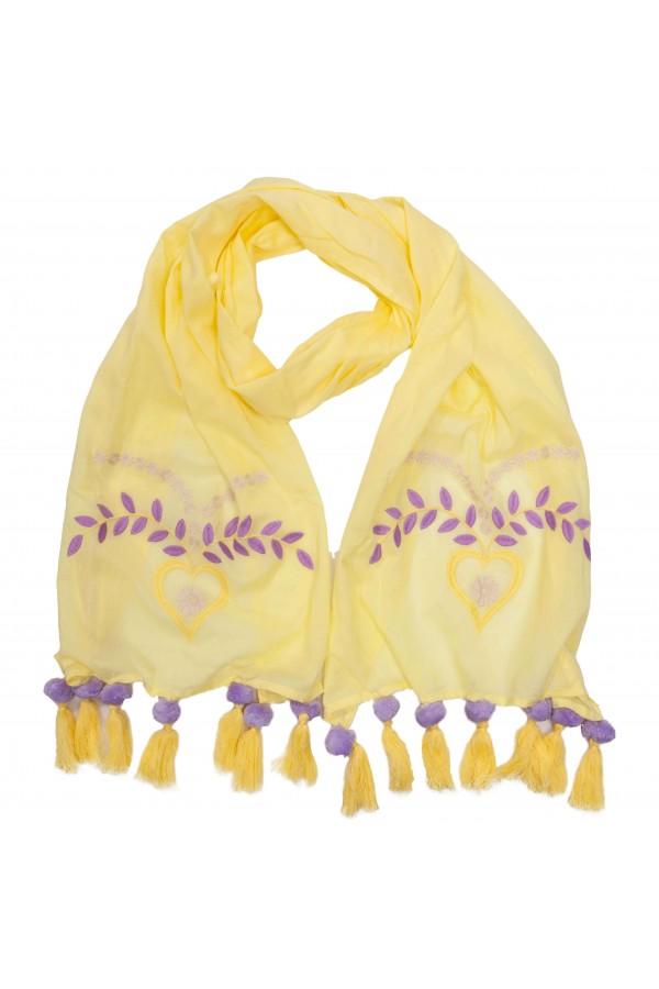 Yellow Love Foulard