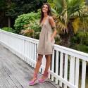 Vestido Miami Topo