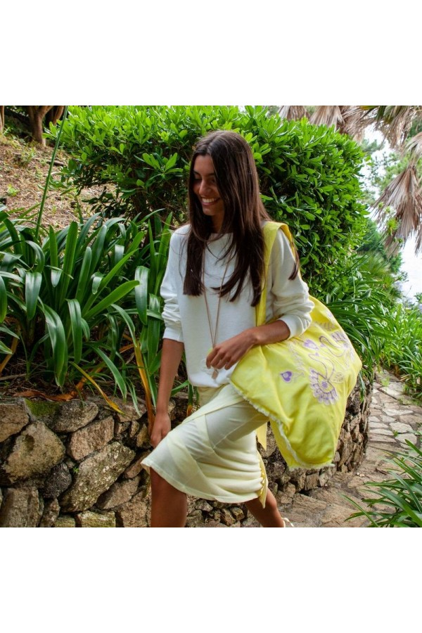 Yellow Maxi Bag