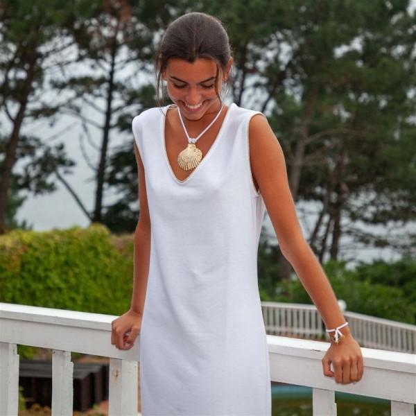 Helena White Dress
