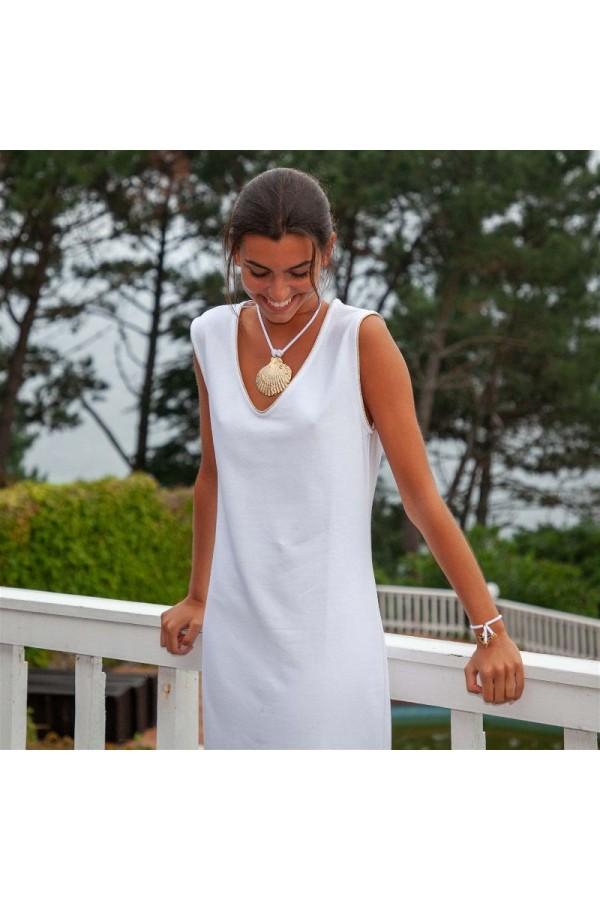 Vestido Helena Blanco