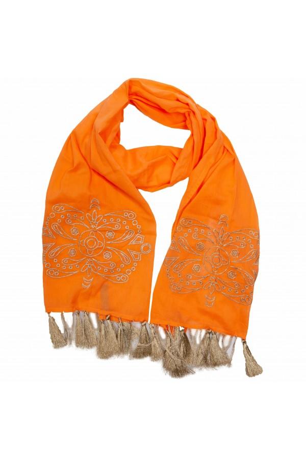 Foulard Gold Naranja