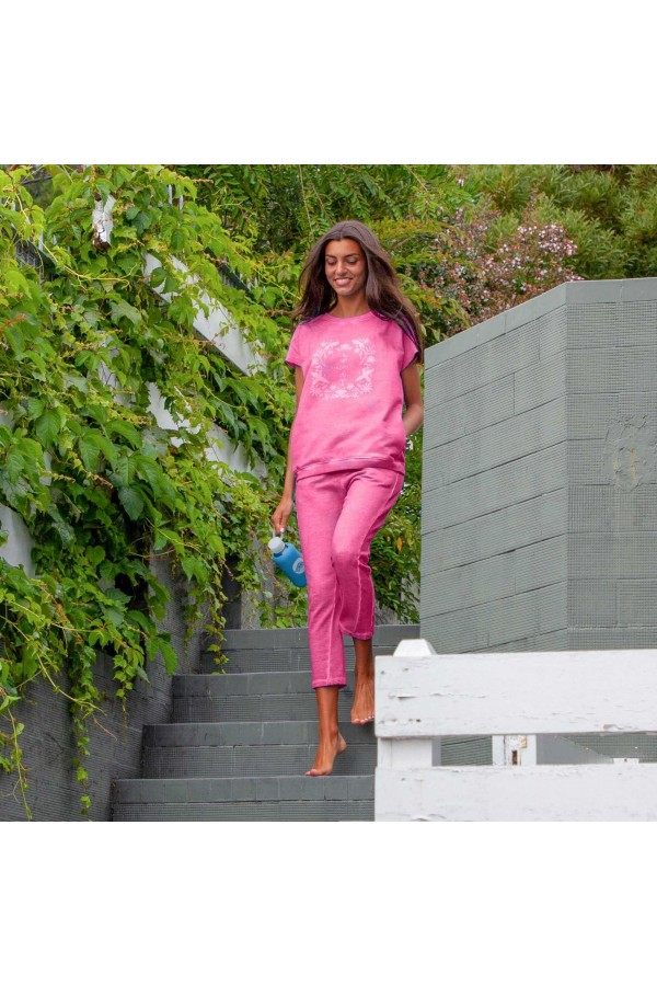 Pink Illinois Trousers