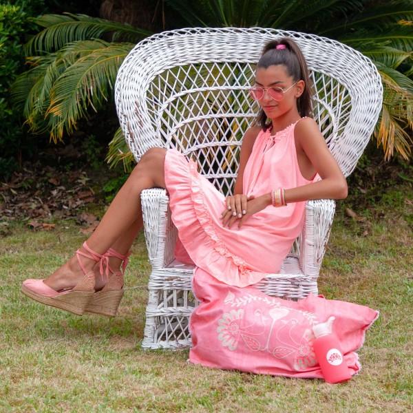 Edila Pink Dress