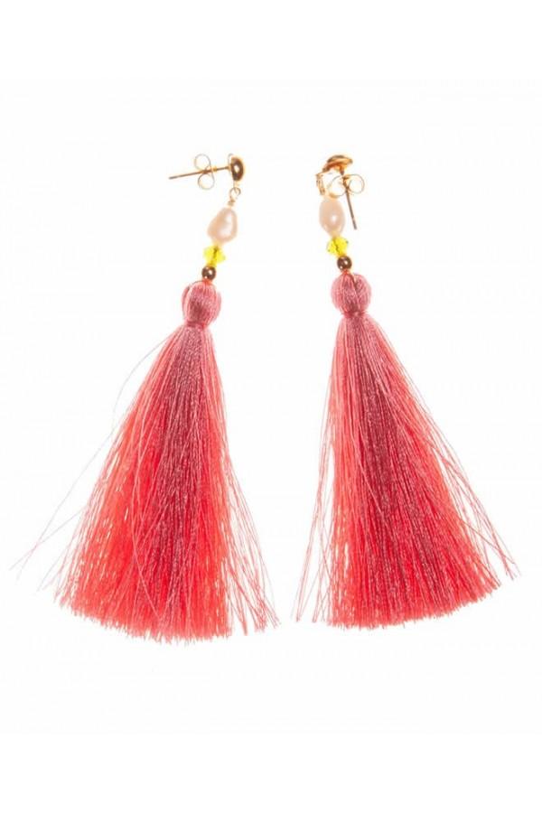 Borlas Coral Earrings
