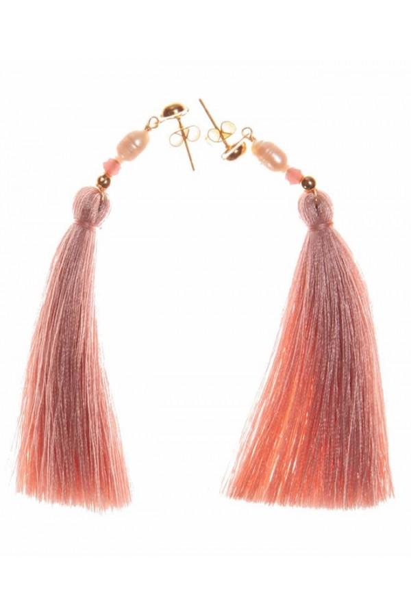 Borlas Rosa Baby Earrings