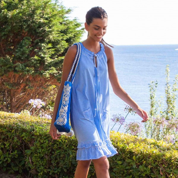Indigo Edila Dress