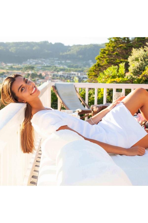 White Atenea Dress