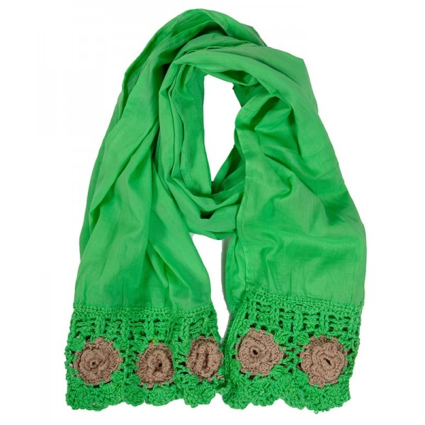 Foulard Crochet Kiwi