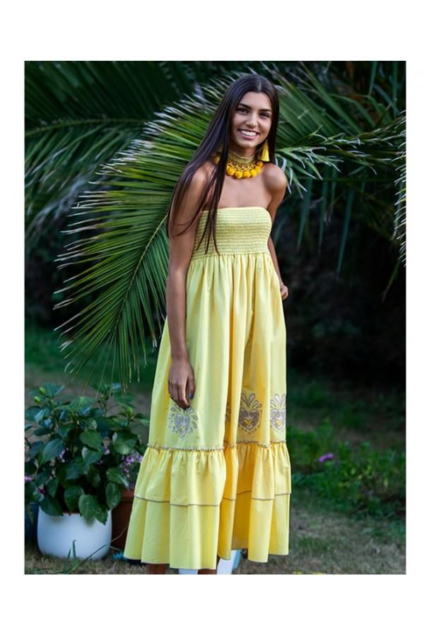 Vestido Reegae Banana