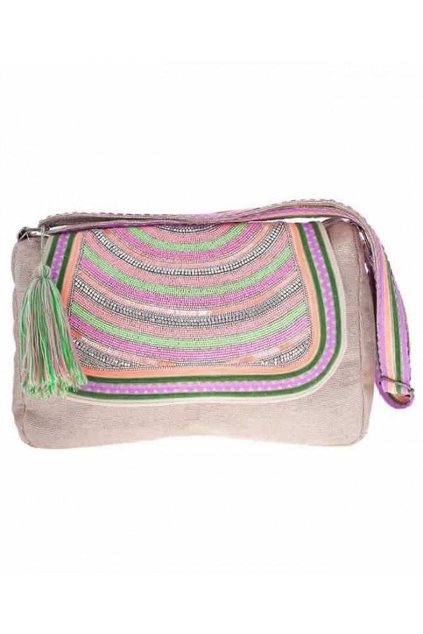 Multicolor Lurex Bag