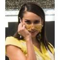 Cordones para gafas amarillos