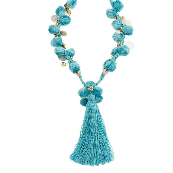Jade Pompoms Necklace