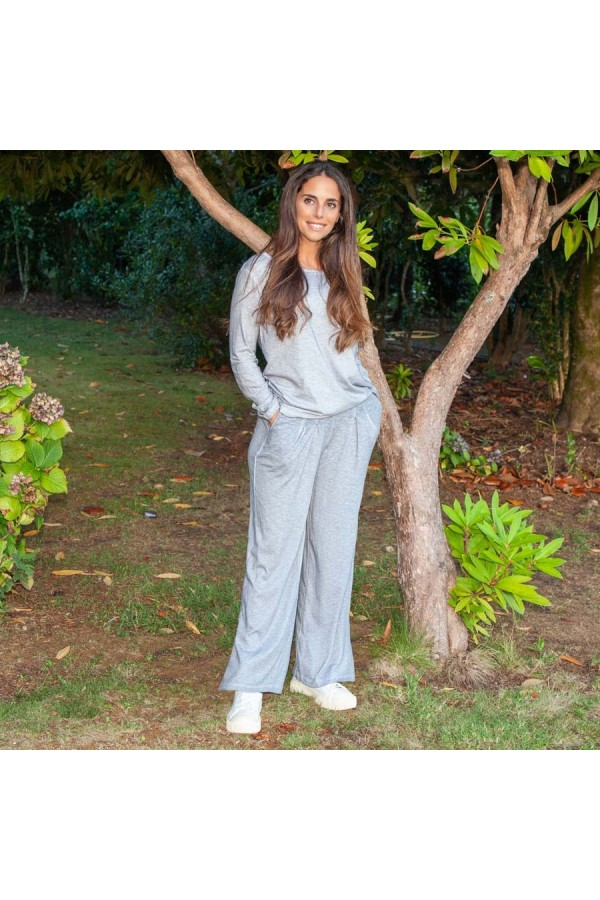 Falda Pantalón Bianca Gris Antracita