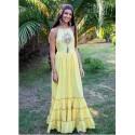 Chill Banana Long Dress