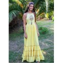 Chill Banana Long Dress