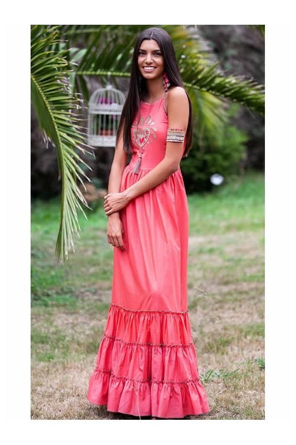 Chill Petunia Long Dress