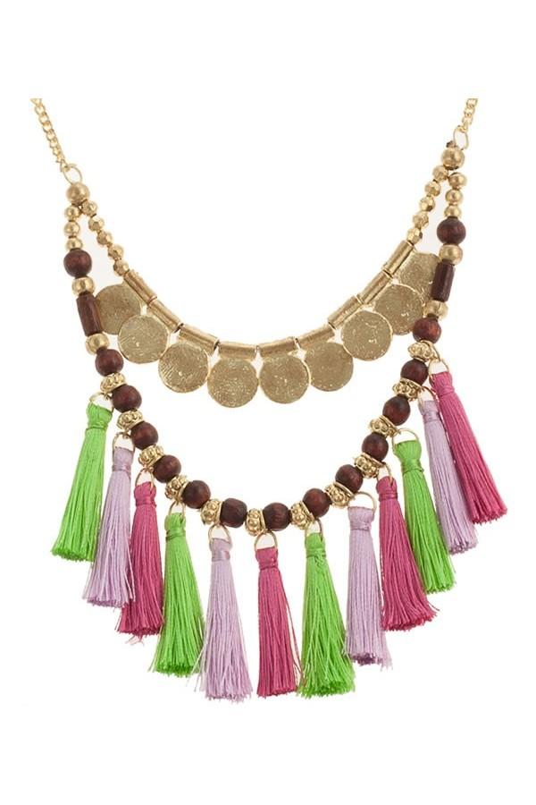 Purple Amazon Necklace