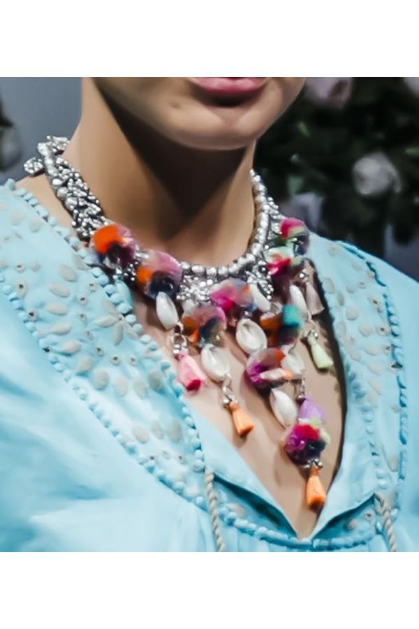 Silver Necklace Buzios