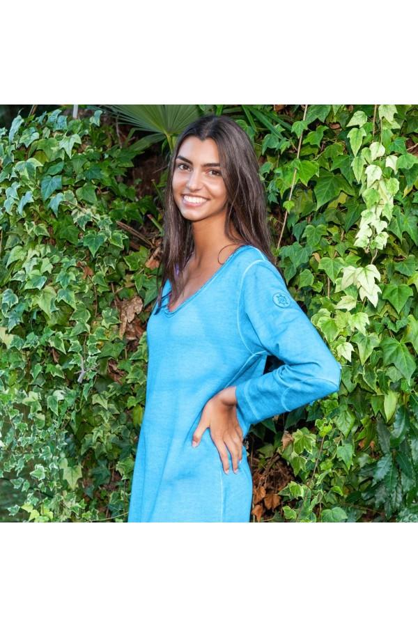 Blue Short Casiopea Dress