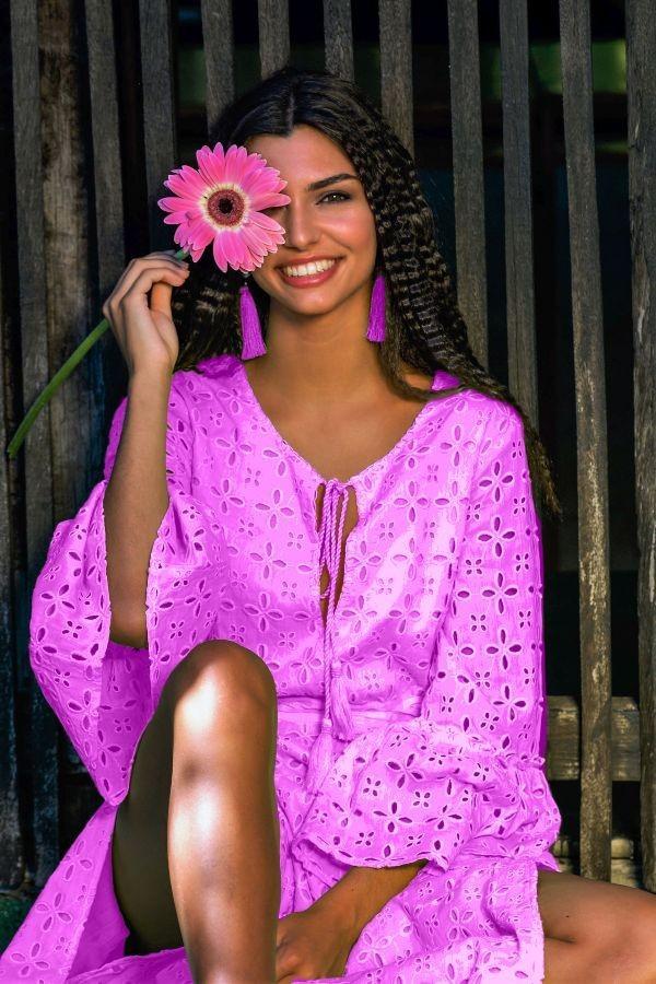 Purple Liv Dress