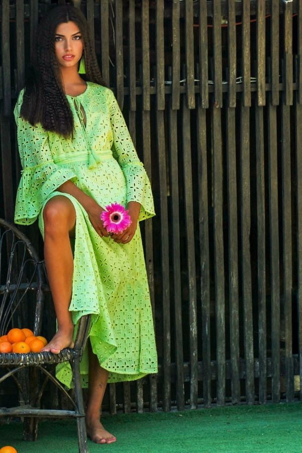 Lime Liv Dress