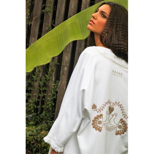 White Kimono Medusa