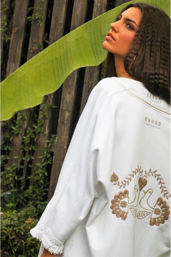 Kimono Medusa Blanco