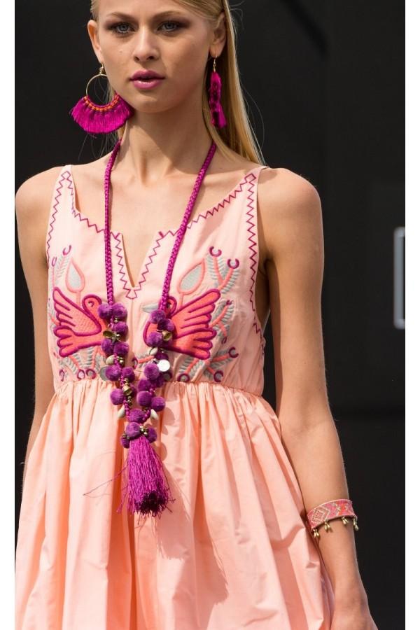 Vestido Angie Mandarina