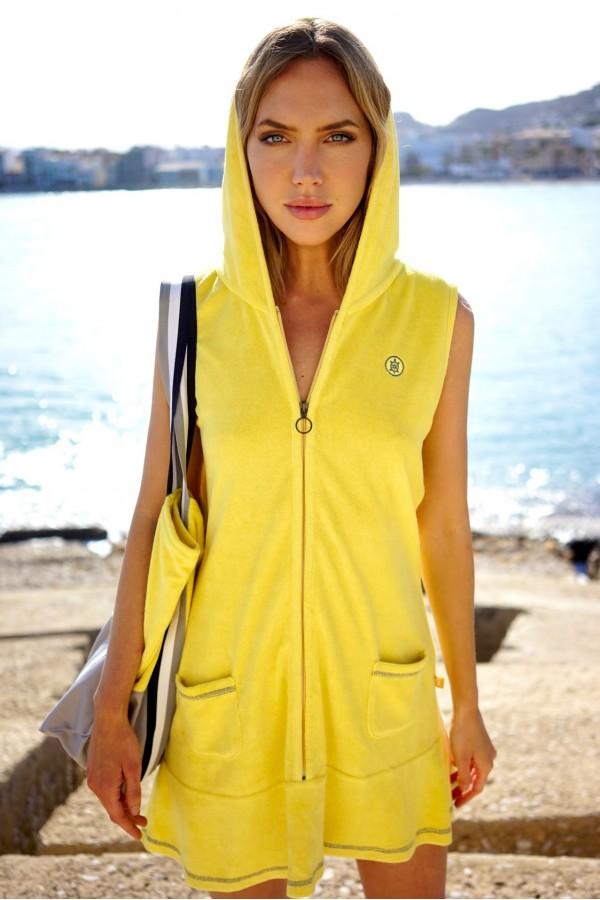 Yellow Vela Dress