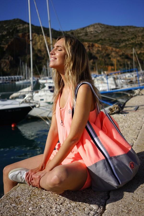 Orange Towel Bag Canada