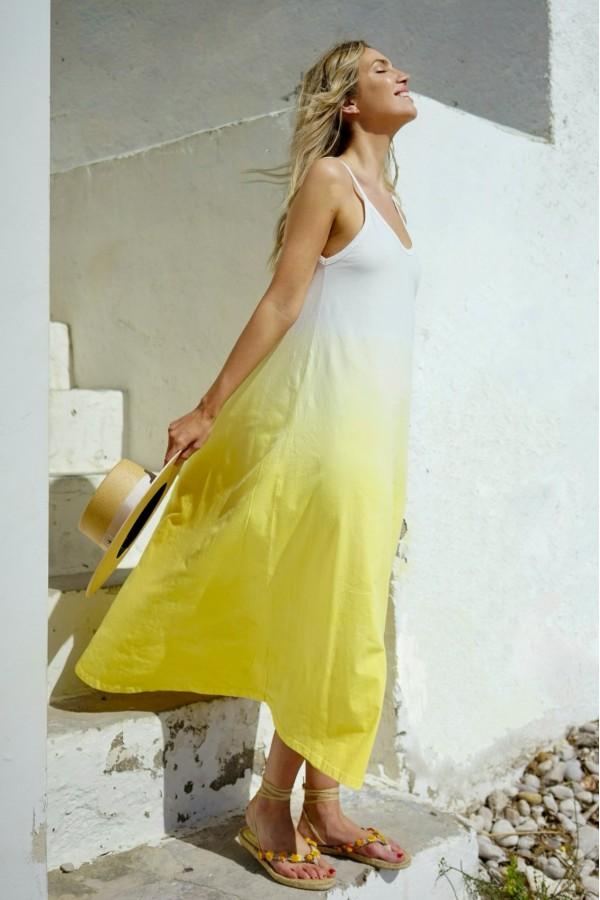 Yellow Sol Dress