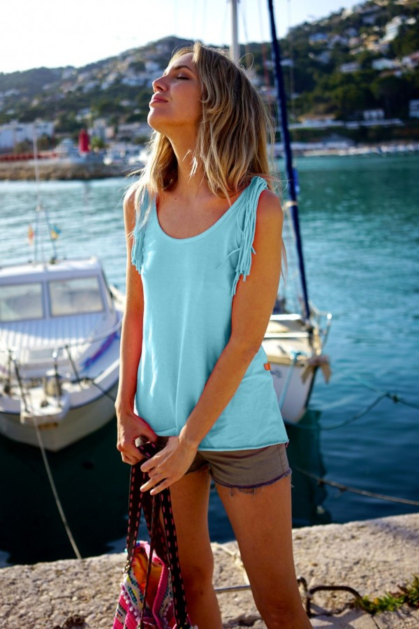 Turquoise Salvaje T-Shirt