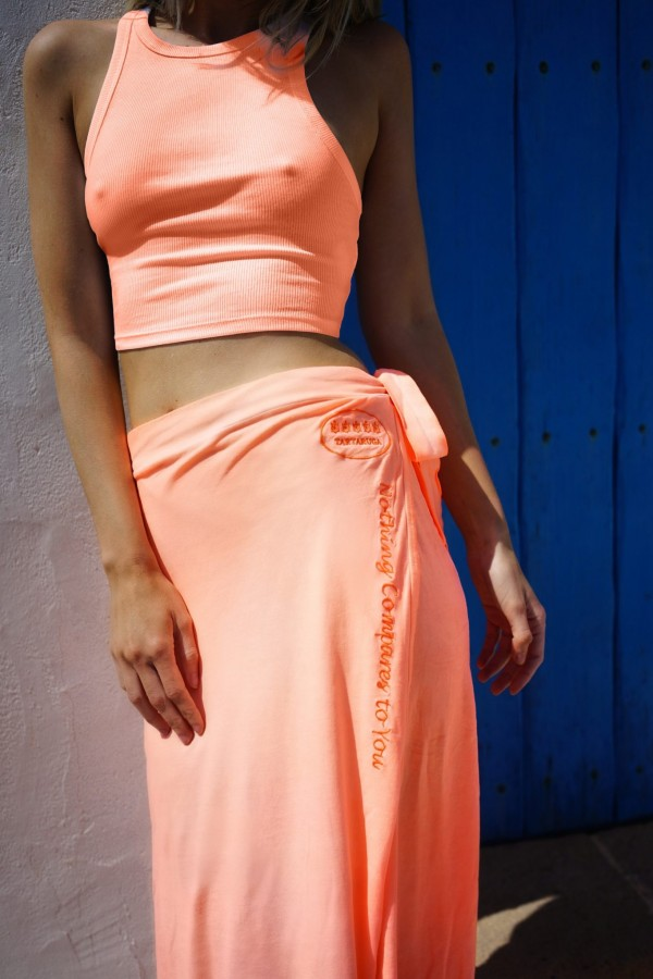 Orange Montana Skirt