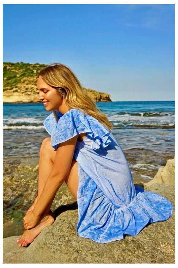 Blue Veracruz Dress