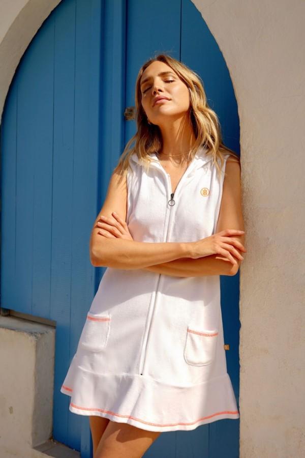 White Vela Dress