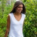 Vestido Helena Blanco de Verano Tartaruga