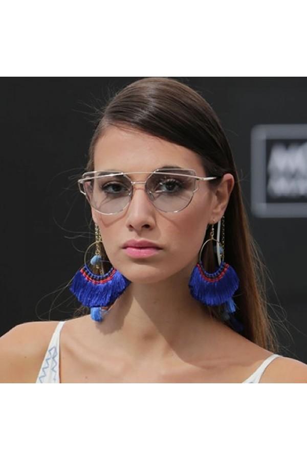 Klein fan earrings